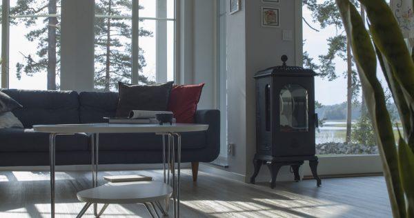 Ruotsalainen Westbo Victoria sähkötakka huonekuva