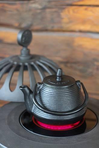 Ruotsalainen Westbo sähkötakan keittolevy ja teepannu